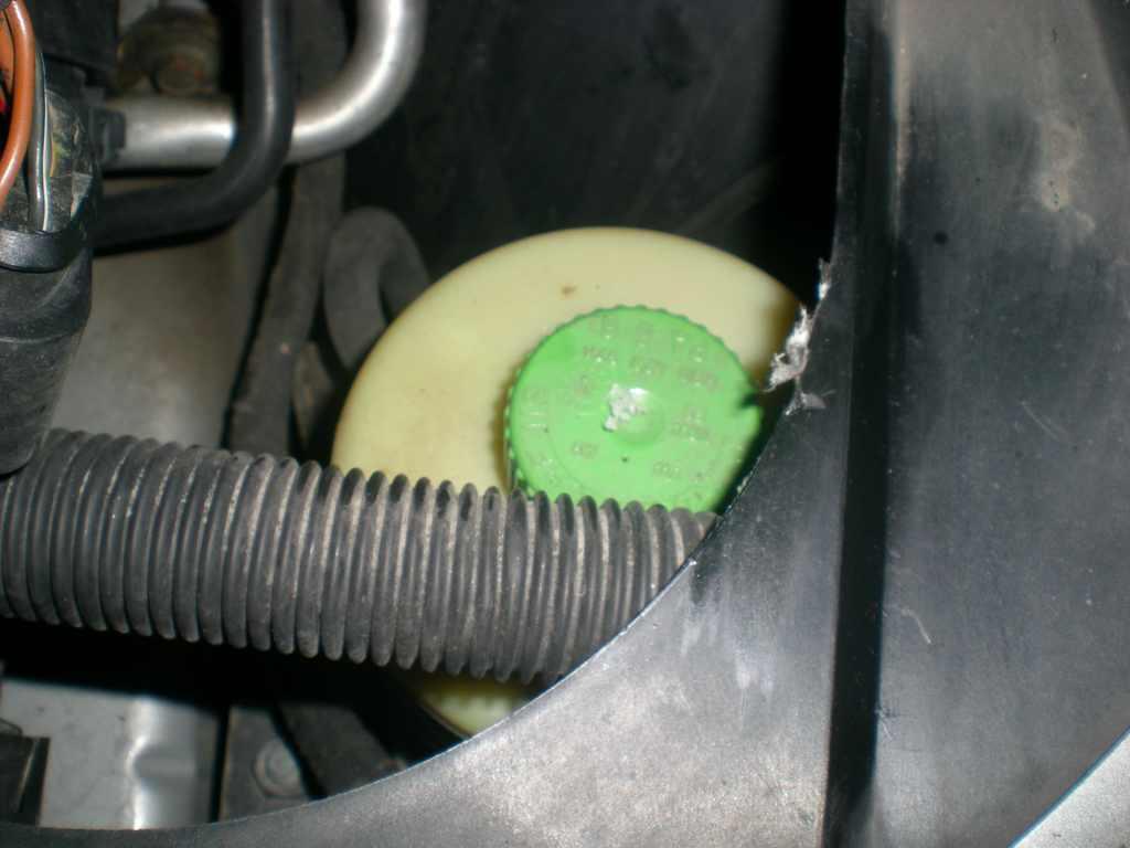 Rijden zonder stuurbekrachtiging olie